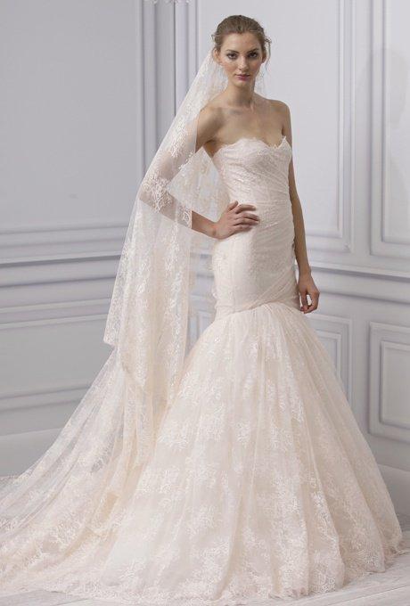 Monique Lhuillier wedding dress, spring 2013