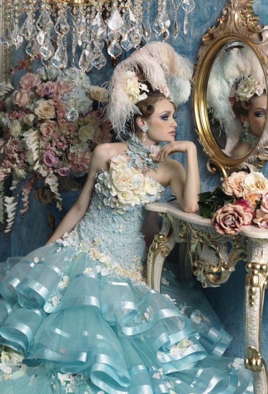 Taffeta Strapless Sweetheart Quince Dress
