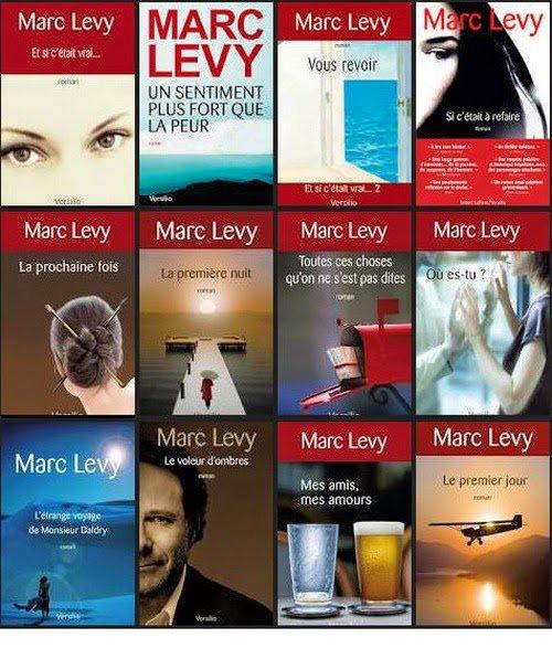 """Mes lectures du moment!!!  """"  Marc levy """""""