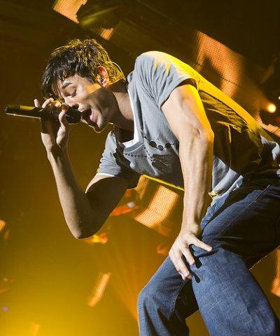 Enrique en concert