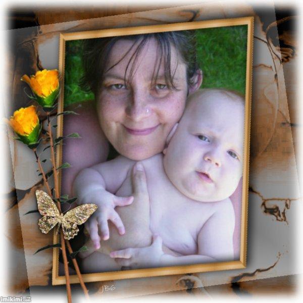 maman et mon frere