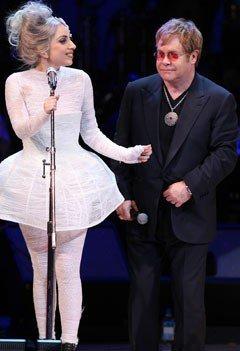 "Elton John fier de Lady Gaga : ""C'est ma fille illégitime !"""