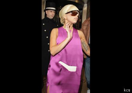 Lady GaGa : madame n'exige que de la soie !