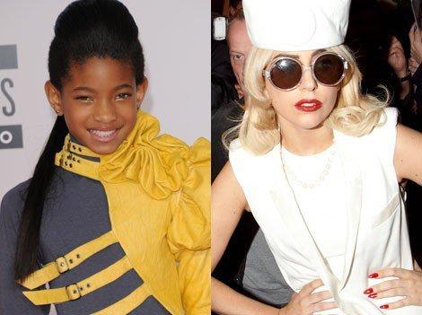 Willow Smith : son modèle, c'est Lady Gaga !
