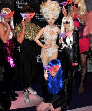 Lady Gaga : découvrez ses statues de cire américaines !