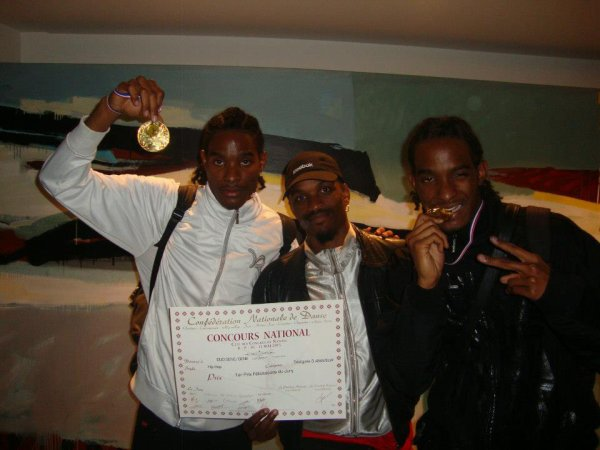 Les Gamals 1er Prix du concours National à Nantes