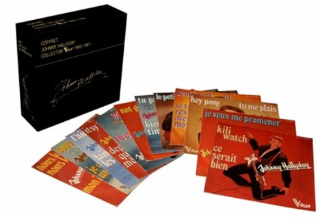 Le coffret collector de Johnny !