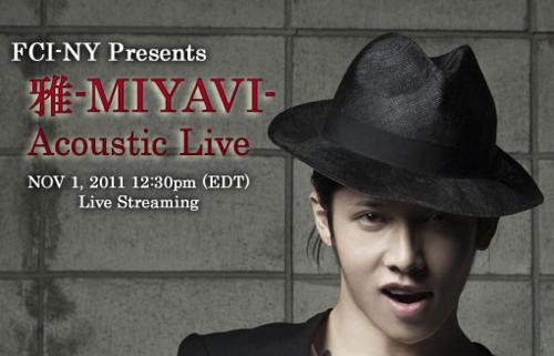 MIYAVI acoustic live