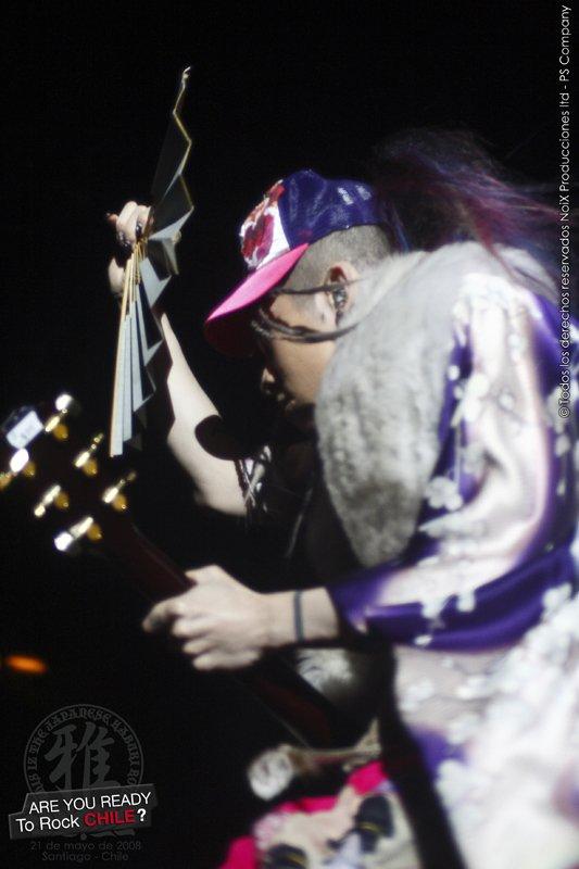 MIYAVI AU CHILI - This iz the Japanese kabuki rock tour 2008 - 21 Mai 2008 -