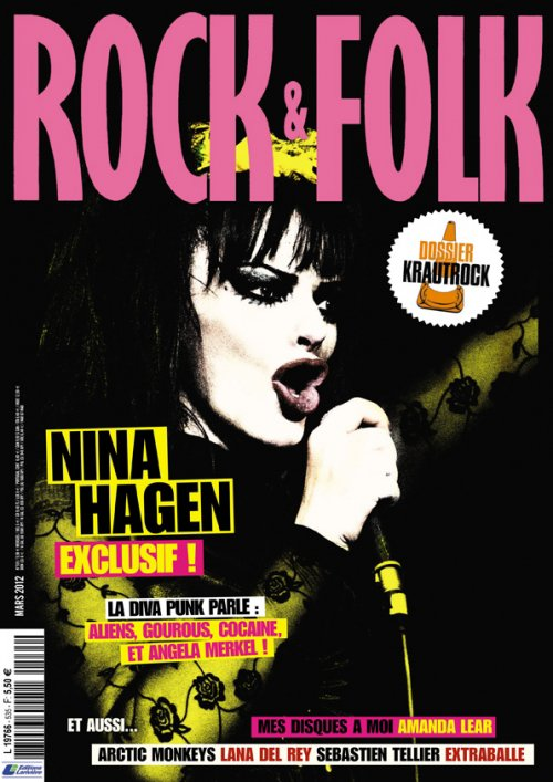 Rock&Folk magazine n°535 (mars 2012)