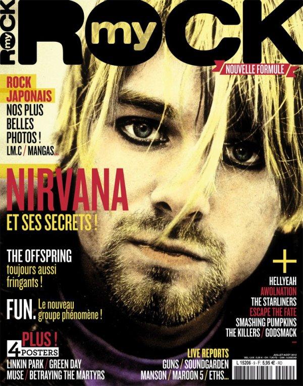 MYROCK magazine juillet/août 2012