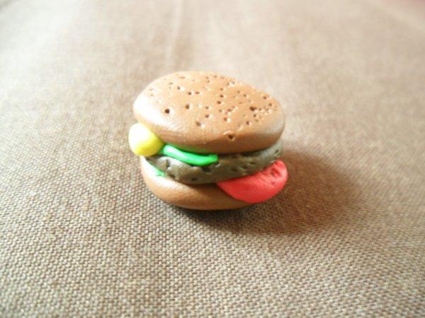 Notre hamburger ! Il donne faim, non ? ^^