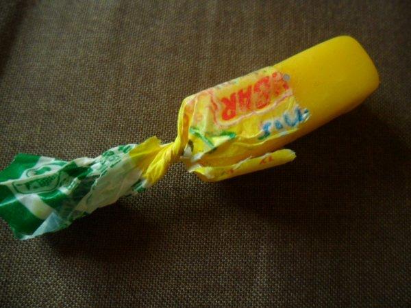 Le fameu Carambar au citron !