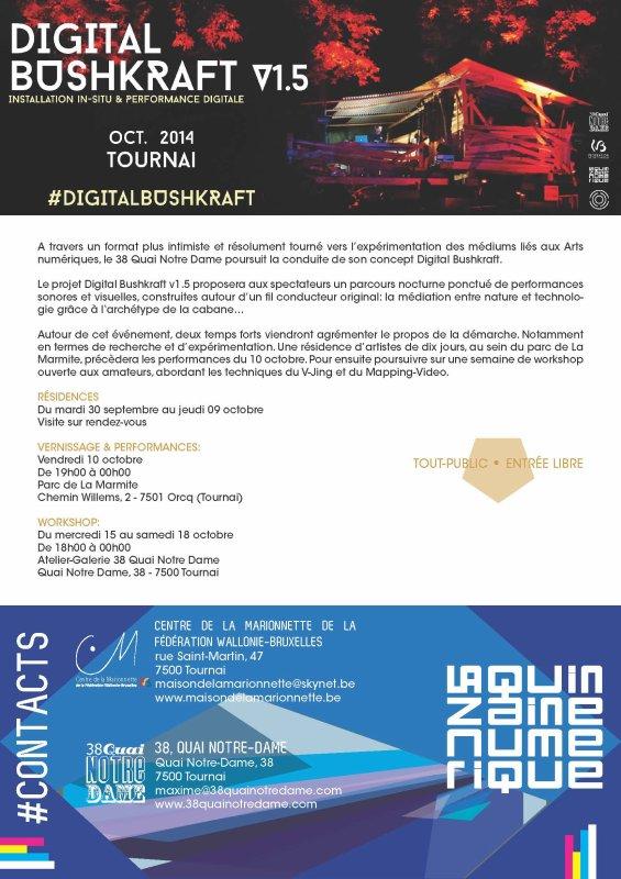 2014-09-30-TOURNAI - PARCOURS NOCTURNE