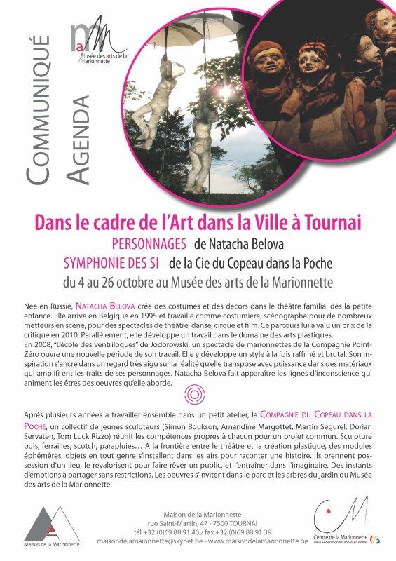 2014-10-04-TOURNAI - NATACHA BELOVA AU MUSEE DES ARTS DE LA MARIONNETTE