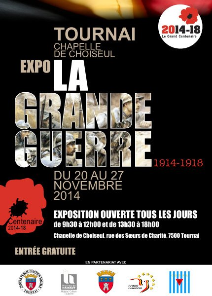 2014-11-20-27-TOURNAI - GRANDES BATAILLES DE LA GRANDE GUERRE
