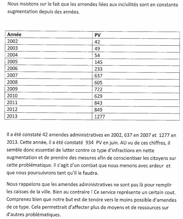 2014-11-10-TOURNAI - ADAPTATION AU REGLEMENT GENERAL DE POLICE