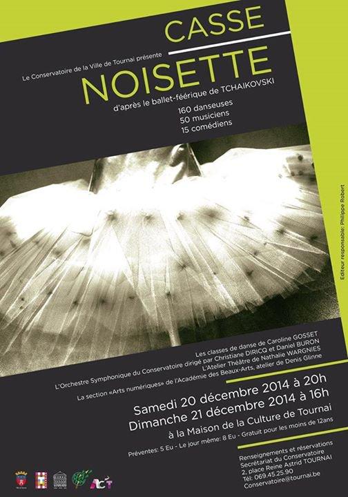 2014-12-20-TOURNAI – UN BALLET A LA MAISON DE CULTURE