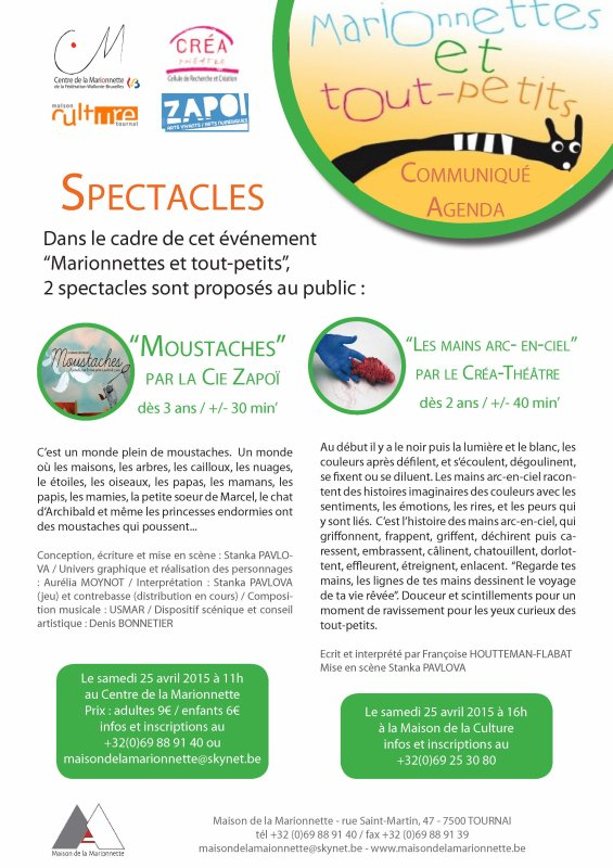 2015-04-25-TOURNAI - FRANCOISE FLABAT PRESENTE 2 SPECTACLES