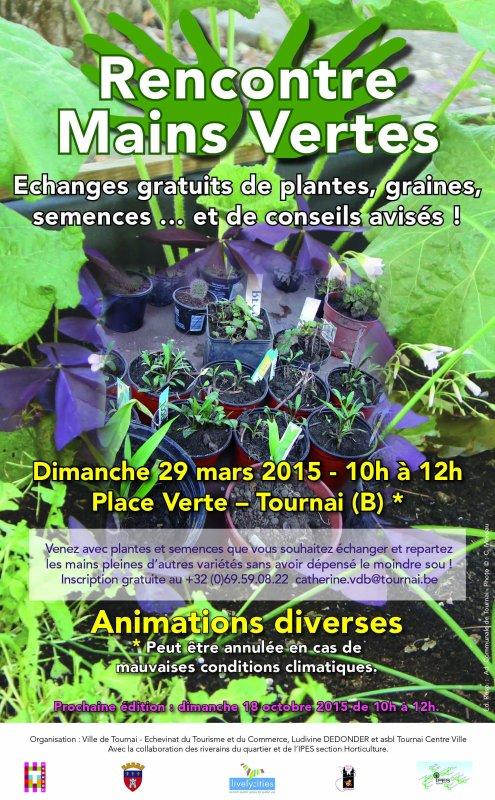 2015-03-29-TOURNAI - ECHANGEZ VOS PLANTES
