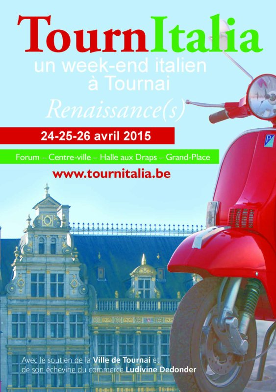 2015-04-24-25-26-TOURNAI - UN WEEK-END ITALIEN A TOURNAI