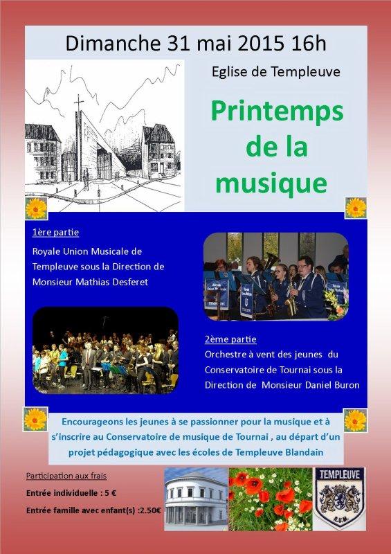 2015-05-31-TEMPLEUVE - PRINTEMPS DE LA MUSIQUE