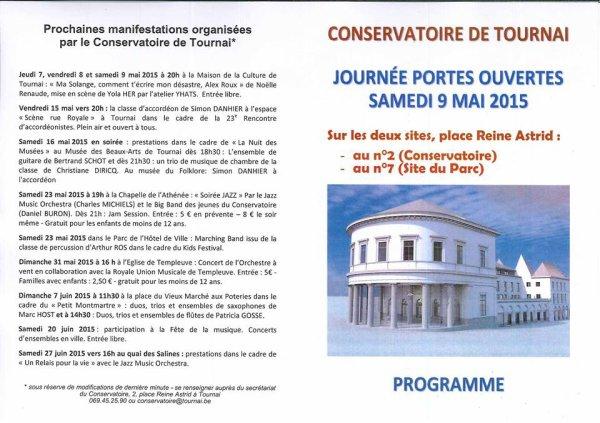 2015-05-09-TOURNAI - AU CONSERVATOIRE