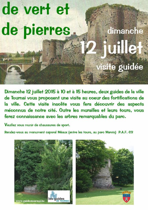 2015-07-12-TOURNAI - FORTIFICATIONS GUIDEES