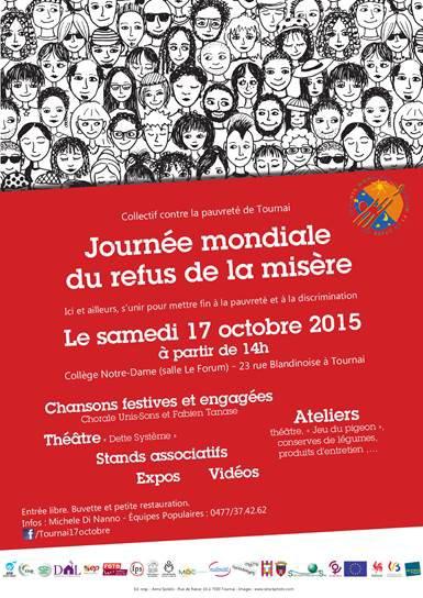 2015-10-17-TOURNAI - CONTRE LA PAUVRETE