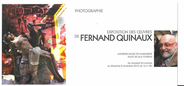 2015-10-23- au 11-08 - EXPOSITION DES OEUVRES DE FERNAND QUINAUX