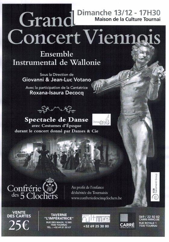 2015-10-25-TOURNAI - MELOMANES, JOHANN STRAUSS VOUS ATTEND LE 13 DECEMBRE