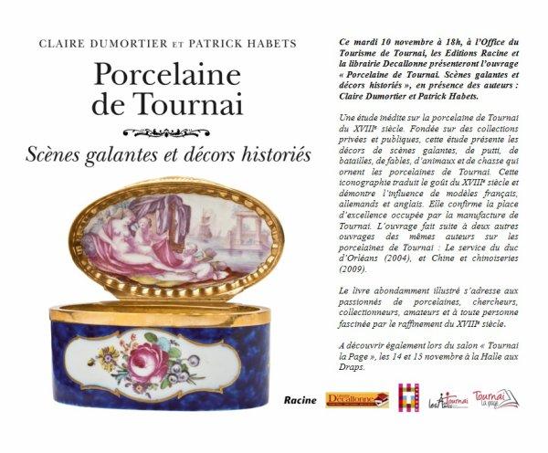 L'OFFICE DE TOURNAI VOUS INVITE A DES SCENES GALANTES ET DECORS HISTORIES