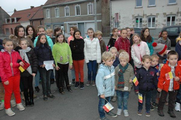 2015-11-10-KAIN - COMMEMORATION DE L'ARMISTICE PAR ET POUR LES ENFANTS