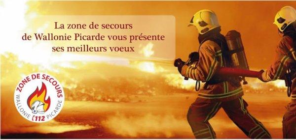 2016- TOURNAI - VOEUX DE LA ZONE DE SECOURS