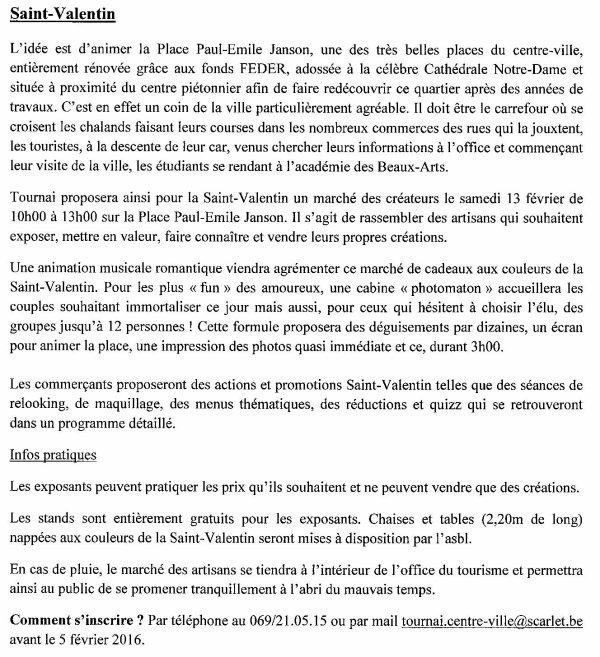 2016-01-12-TOURNAI – UN BILAN PLUS QUE POSITIF SE DEGAGE DES REALISATIONS EN 2015