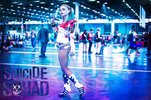 Cosplay Harley Quinn Suicide Squad japan expo