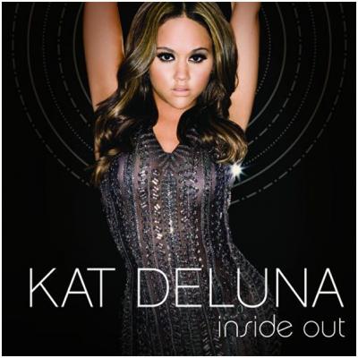 La pochette officiel de l'album INSIDE OUT de Kat-Deluna