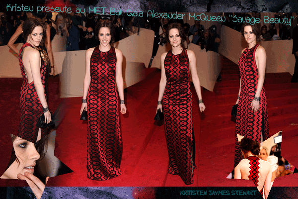 « Alexander McQueen : Savage Beauty » MET Ball Gala [02.05.11] -