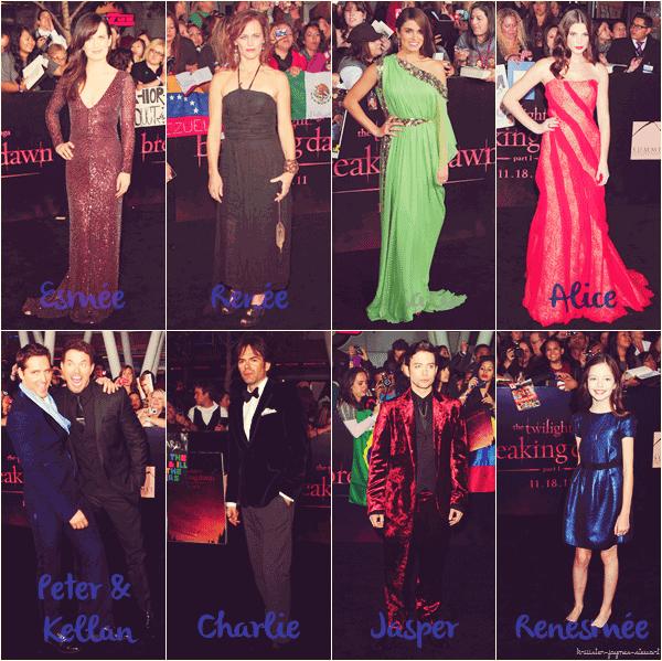 Première Mondiale « Twilight 4 : Révélation 1 » à Los Angeles [14.11.11] -