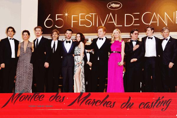 65ème Festival de Cannes Première Mondiale « Sur La Route » [23.05.12]