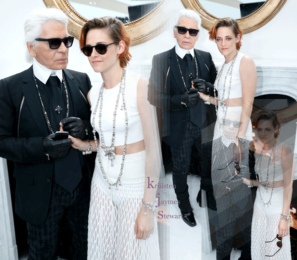 Fashion Week Parisienne - Défilé « Chanel » [08.07.14]