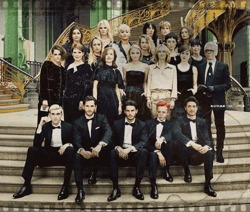 Fashion Week Parisienne ~  Défilé Chanel Cercle Privé [07.07.15]