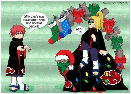 Le premier Noël de l'Akatsuki