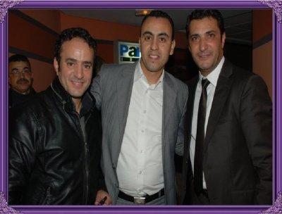 En compagnie de Khalid nizar et Tahor