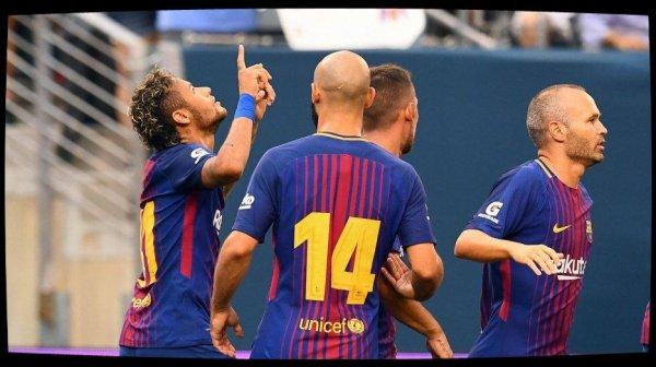Grâce à Neymar, le FC Barcelone bat la Juventus Turin 2-1 en amical