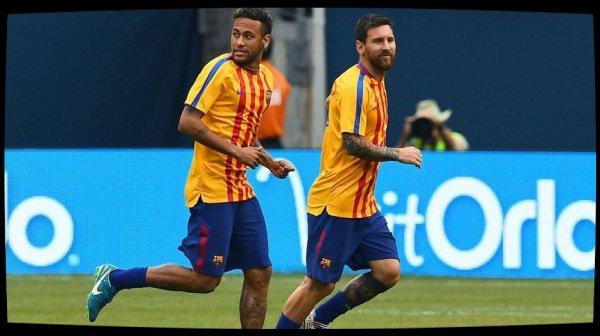 """Neymar à Messi et Suarez : """"Je reste"""""""