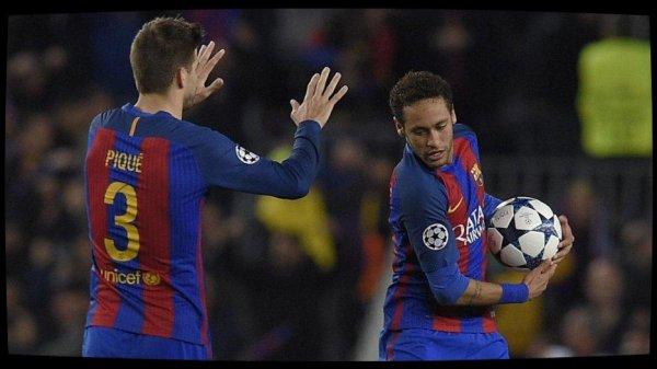 """Piqué l'annonce sur Twitter : Neymar """"reste"""" au Barça"""