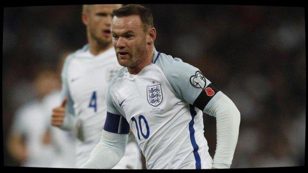 Wayne Rooney prend sa retraite internationale
