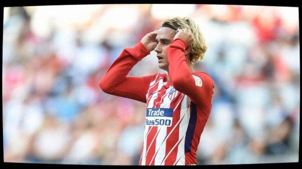 Antoine Griezmann suspendu deux matches après son exclusion avec l'Atlético Madrid