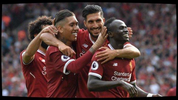 Liverpool écrase Arsenal (4-0) et pointe au 2e rang